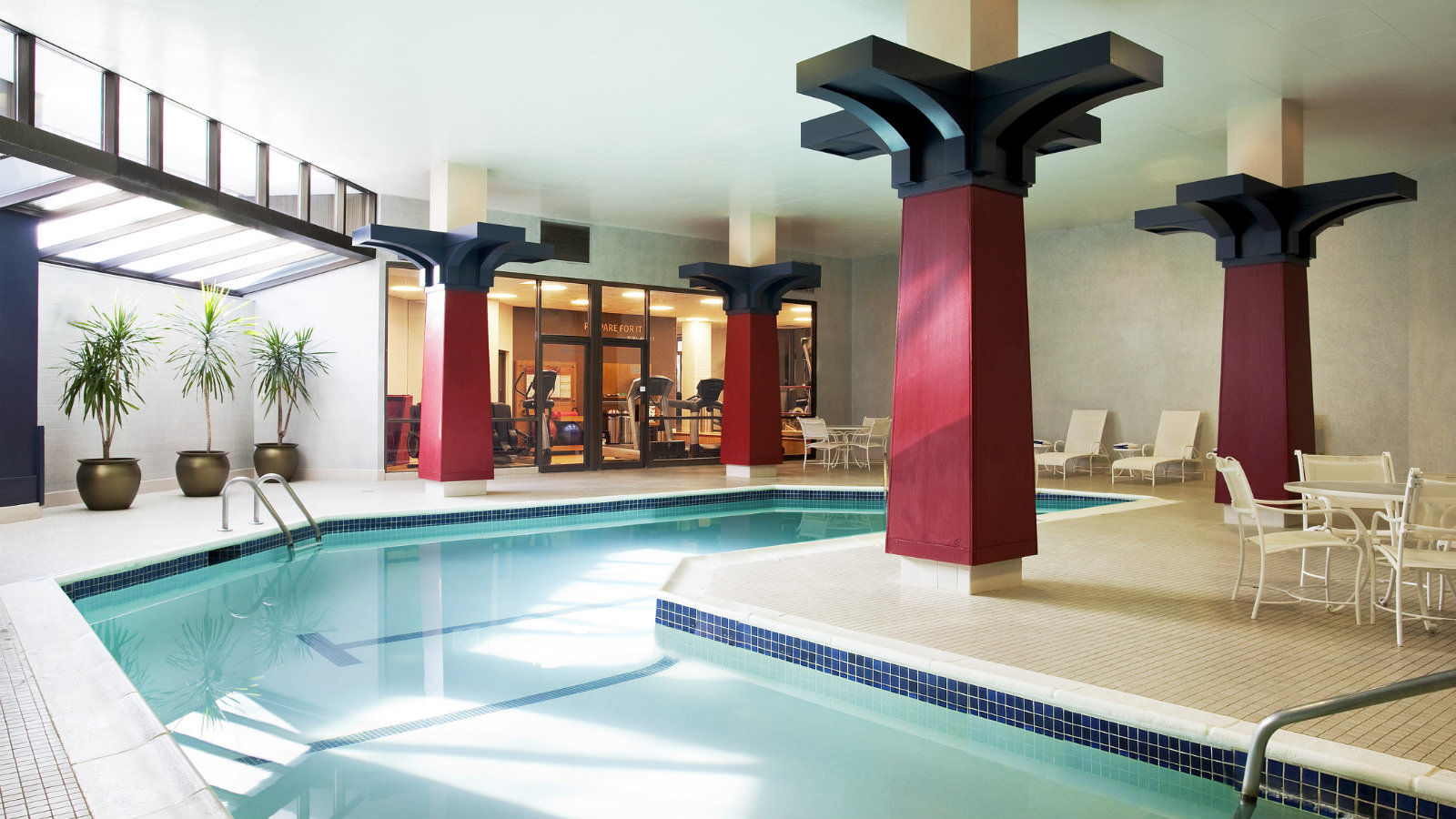 Indoor Heated Pool & Sauna