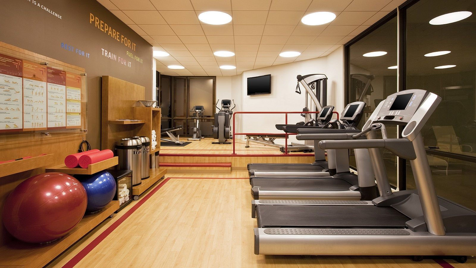 Hotel Amenities - Fitness Center